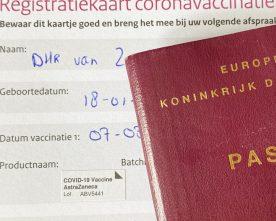 Nederlands vaccinatiebewijs voldoende voor reis naar Griekenland